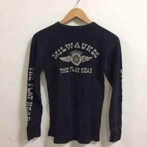 Vintage The Flat Head Shirt Size 38 Size S