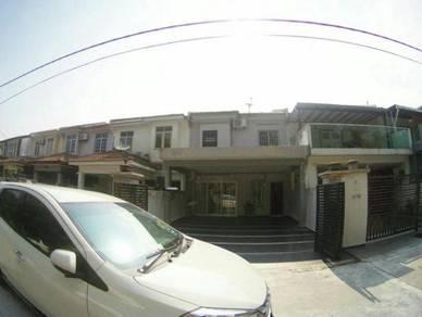 (BOOKING 1K) FACING OPEN 2 Storey Terrace Taman Saujana Puchong