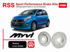 Myvi 1.5 RSS Sport Disc Rotor and Brake Pad Kits