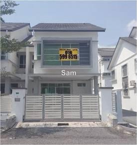 Meru Desa Park Ipoh 2 Storey Terrace Endlot House