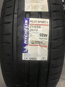 Michelin 215 55 17 PS4