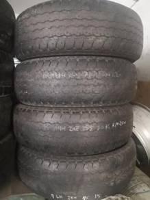 2nd Tyre Tayar 255 70 15 BRIDGESTONE HT 2014 50%