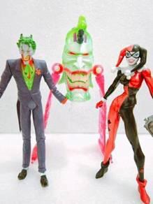 Dc Joker & Harley Quinn Figure Toy not neca marvel