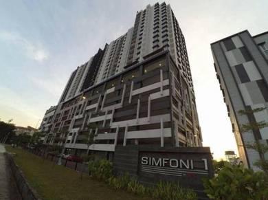 Apartment- Semi furnished at SIMFONI1,Bandar Teknologi,Kajang for RENT