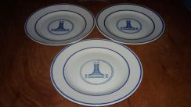Vintage 3pcs Plates