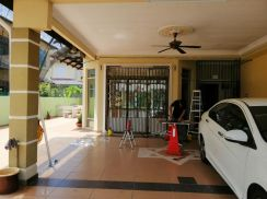 Rumah pejabat tinted termurah 3ply home