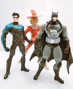 Dc Batman Nightwing & Scarecrow figure Toys