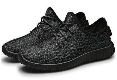 F0251 Cool Breathable Black Sneakers Sports Shoes