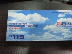 SKYDIVES SINGAPORE 2tickets