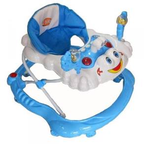Baby walker Happy Face with stopper