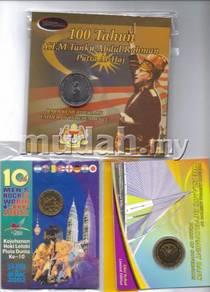 Commemorative coin card set A 2017