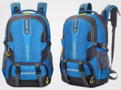 Alta Waterproof Travel Bag Hiking Backpack (Blue)