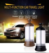 Rechargeable Vehicle-mounted Travel Light w/ Magne