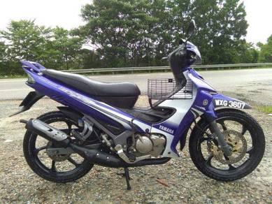 Yamaha 125zr Biru GP full Original