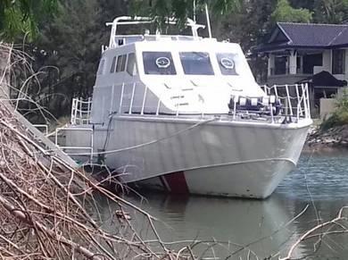 14M Aluminium Fast Boat