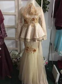 Busana pengantin untuk dilepaskan