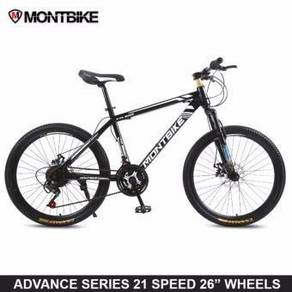 Basikal Mountain Bike With 21 Speeds MTB