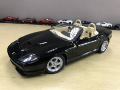 Ferrari 550 Barchetta Hot Wheels Elite