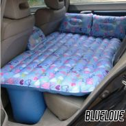 Floral car air bed