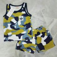 [Age 2~5] Combo Set Sleeveless Top + Bermuda 2120