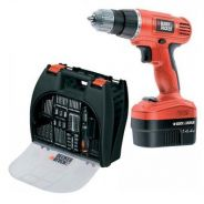 Black & Decker 14.4v Cordless Power Drill Set