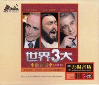 CD THREE TENORS Pavarotti Domingo Carreras 3CD
