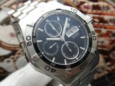 188) tag heuer aquaracer 300m chronograph auto