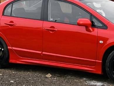 Honda civic fd mugen rr side skirt bodykit taiwan
