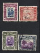 North borneo 1945 bma 4 used bl264