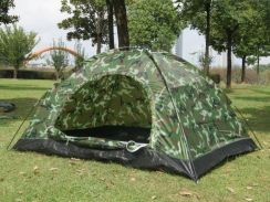 Camouflage Single Layer Outdoor Camping Tent
