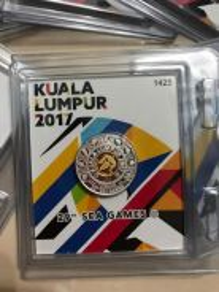 Kuala Lumpur 29th Sea Games 2017 Commemorative coi
