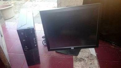 Set Komputer Core i5 & Monitor 17