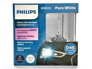 Philips D4S Ultinon HID (3 Years Warranty)