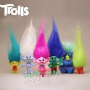 Topper collection Mini Figure Toy - 6Pcs