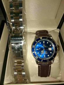 Rolex Submarine 16613 Blue Gold