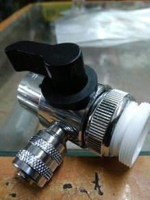Diveter valve single 3/8