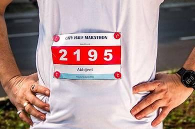 Marathon Bib Clip