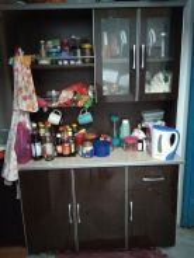 Kabinet dapur marmar