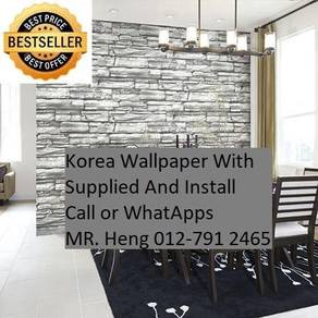 Install Wall paper for Your Office 8ukj