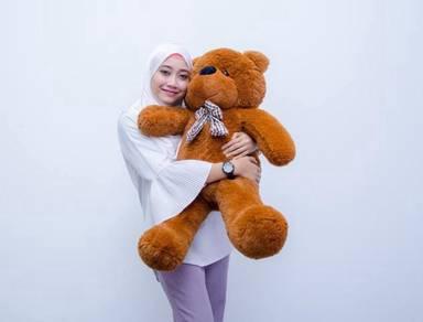 Hantar Teddy Bear 100cm Sebagai Hadiah Hari Jadi