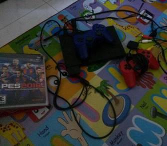 Set PS2 + game utk dijual good condition