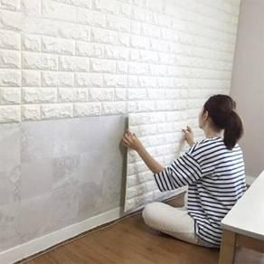 DIY Brick Foam Panel 3D Foam Wallpaper