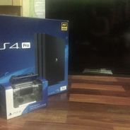 Ps4 Pro with TV sony
