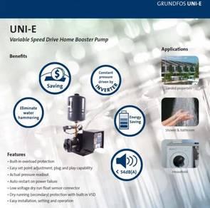 Grundfos Uni-E Variable Speed Inverter Pump