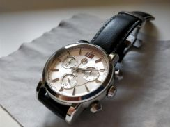 Mercedes Classic Chronograph Watch