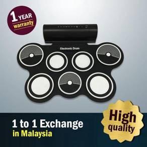 7 Pad Taloha Portable Electronic Drum Pad > New