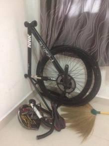 Basikal fixie carbon