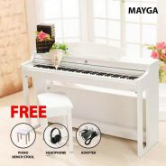 Mayga MH-27 Digital Grand Piano > Black/White