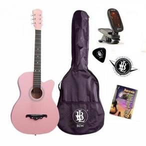 38Inch Gitar - Free Bag, Tuner, Buku Kord & Pick