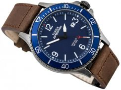 Timex watch Expedition blue Brown Leather